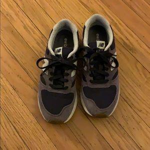 New Balance 420 purple sneakers
